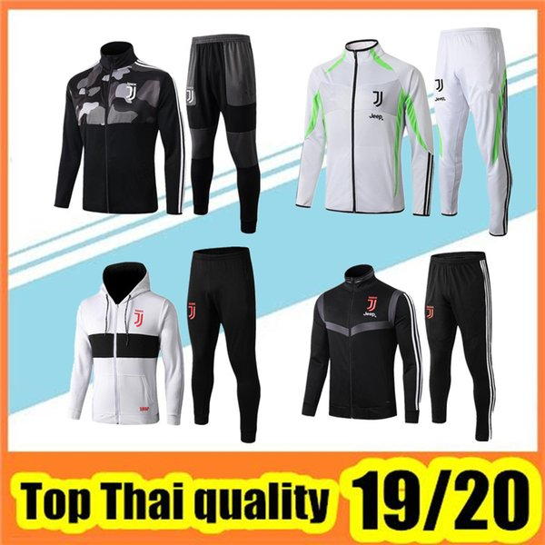 best selling 2019 20 soccer tracksuit football jacket 19 20 Hooded jacket suit uniforms