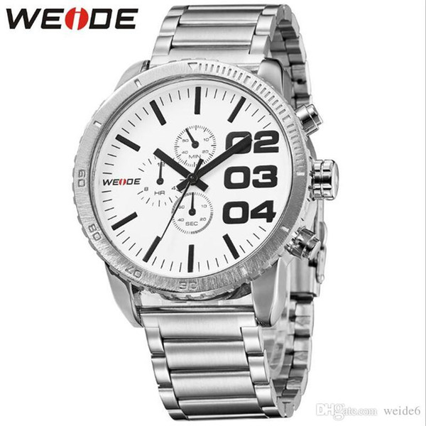 WEIDE-WH3310 Europa y los Estados Unidos Gran tendencia de marcación 30M Reloj militar para hombres impermeable Reloj casual para estudiantes
