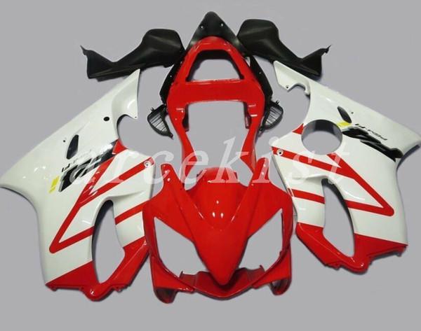 New Injection ABS Fairing kits Fit for HONDA CBR 600 F4i fairings 2001 2002 2003 CBR600 FS F4i body 01 02 03 custom white red