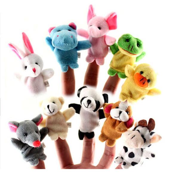 Hot Unisex Spielzeug Fingerpuppen Finger Tiere Spielzeug Niedlichen Cartoon Kinder Spielzeug Kuscheltiere Kinder Spielzeug