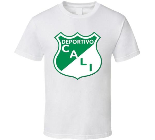 Deportivo Cali Colombiano de Futebol Da Equipe de Futebol Clube T Shirt Engraçado frete grátis Unisex Casual Tshirt top