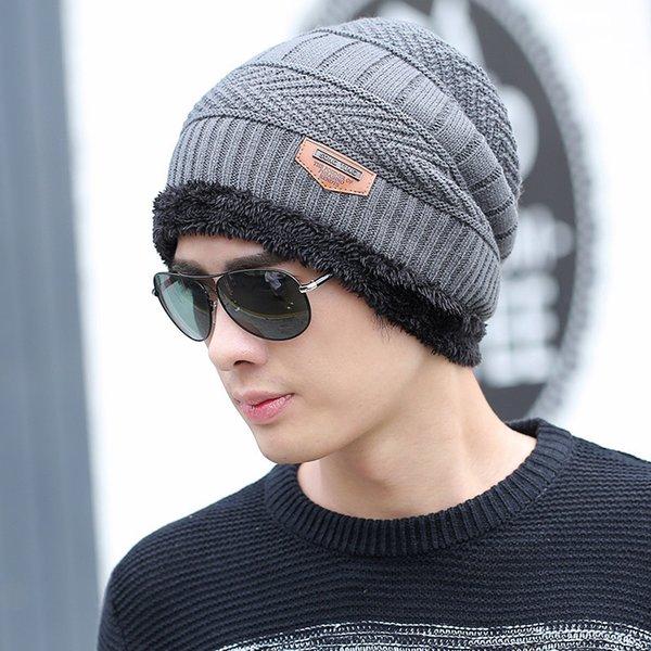 individual gray hat