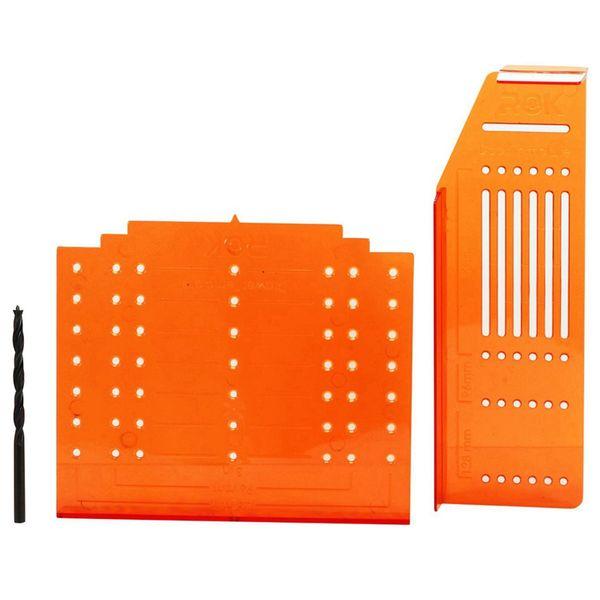 PQWN Manopola per pomolo Hardware Maniglia per trapano Modello di montaggio per ante e cassetti per fori di foratura con set di utensili di precisione