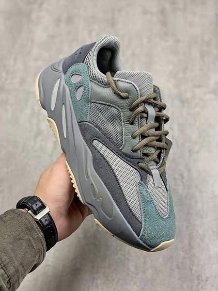 2019 700 teal blue running shoes men women kanye west sports shoes