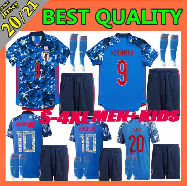 2020 Japon maillot de football hommes 20 21 équipe nationale ATOM KAGAWA ENDO OKAZAKI NAGATOMO HASEBE shirt KAMAMOTO de football pour les enfants