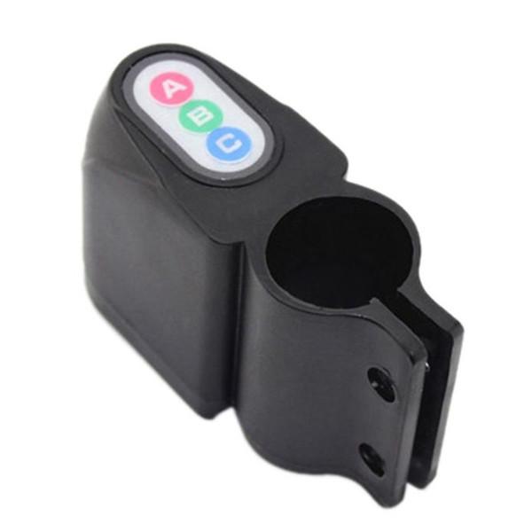 Professional Anti-theft Bike Lock Cycling Security Lock Remote Control Vibration Alarm Bicycle Vibration Alarm #2A17 #122552