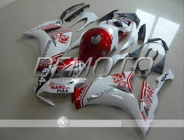 New Injection Mold ABS motorcycle Fairings Kits+Tank cover Fit For HONDA CBR1000RR 12-16 2012 2013 2014 2015 2016 body set custom white red
