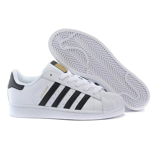 NEW 2020 Livraison gratuite Superstar Blanc Noir Rose or bleu Superstars 80 Fierté Sneakers Super Star Femmes Hommes Sport Chaussures Casual