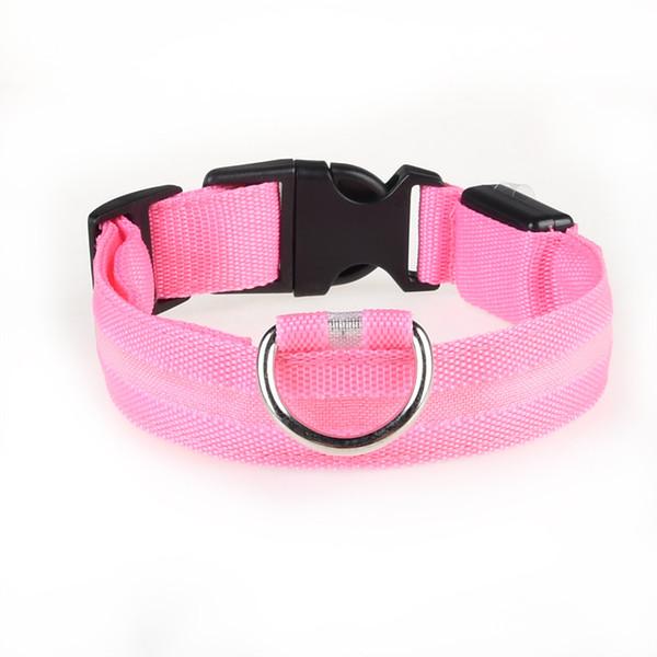 top popular 2020 Dogs Pet Supplies Dog Luminous Collar Rechargeable LED Collar Large Medium and Small Dog Pet Collars Rechargeable LED Light Pet Collar 2020