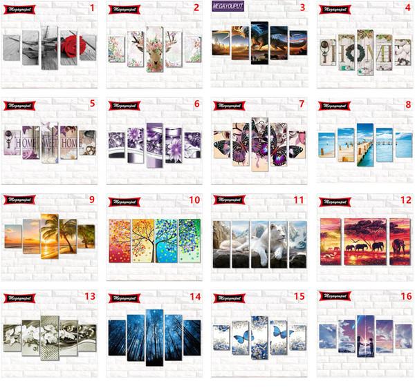 5 Chargement Complet 5D Diamant Peinture Kits Broderie Point De Croix kits salon mosaïque motif Home Decor Nouveaux Styles