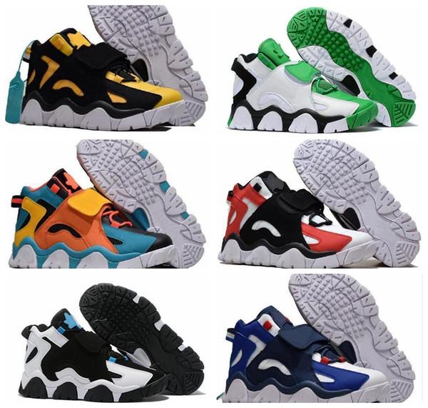 Barrage Mid QS Basketball Shoes Sneakers Raptors Hyper Grape Classic Rams Cabana Grey Mens Women Man 2019 New Designer Trainers Shoes Women Basketball