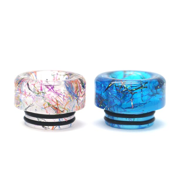 top popular VapeSoon Newest 810 Resin Drip Tip For TFV8 TFV12 Prince IJUST 3 ELLO TS MANTA etc DT218 Fast Shipping 2021
