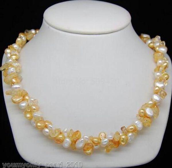 Bijoux fantaisie pour femme Livraison gratuite Jolis colliers de perles baroques multicolores 18