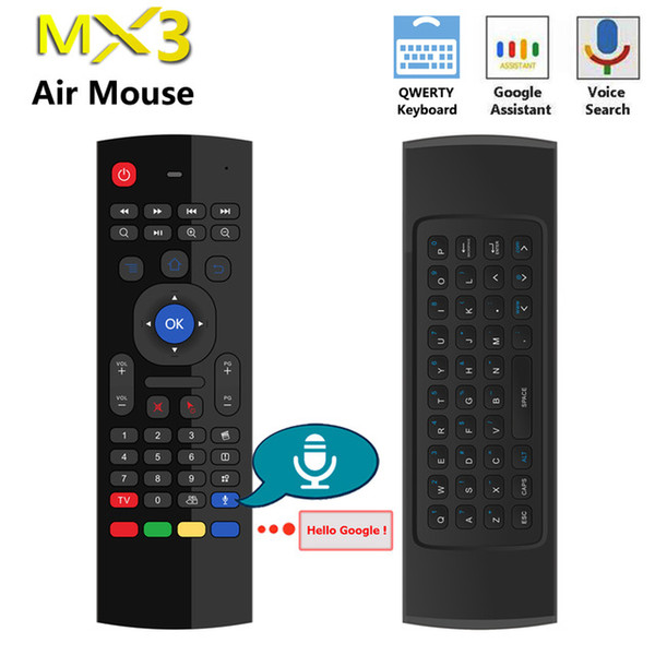 RF 2.4G Wireless Air USB Mouse Wireless Keyboard Remote For Smart TV Box Mini PC