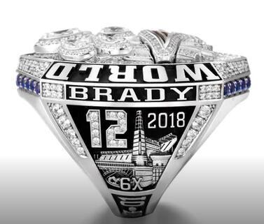 ingrosso New England 2018 - 2019 stagione Patriots Championship ring