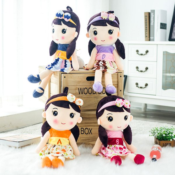 Lovely Cloth A Doll Woman A Doll New Pattern Small Plush Toys Doll Figure Festival Gift
