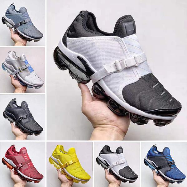 New Arrival Mens VPM Plus Paris Cushion Running Shoes TN Plus 2.0 strap that wraps around women's Designer Sneakers Size 40-45