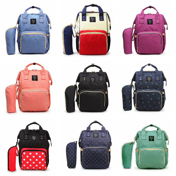 best selling Mommy Backpacks 10Styles Mother Pack Nappies Diaper Bags Camo Waterproof Maternity Handbags Nursing Travel Outdoor Bags LJJA3501-13