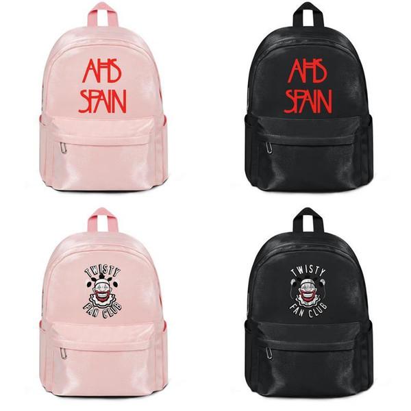 American Horror Story AHS Spanien Logo Hersteller verkaufen Designer Rucksack Handtaschen Umhängetaschen Herren Damen Nylon Überlegene Qualität