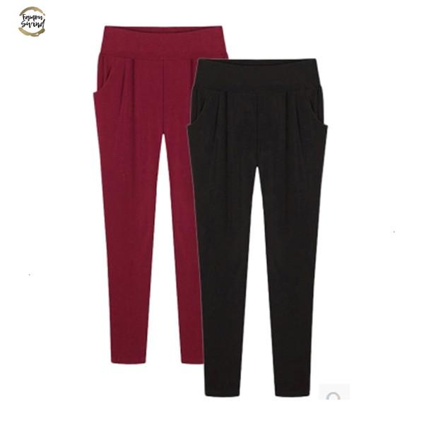 Été femmes pantalons longueur cheville plus 5XL Taille 6XL en vrac Pantalons simple Harem Femme Crayon extensible Sweatpant taille élastique