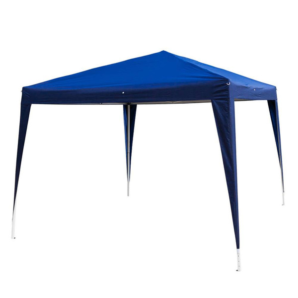 3 x 3m Two Doors & Two Windows Practical Waterproof Folding Tent Suitable for All Kinds Of Events Blue