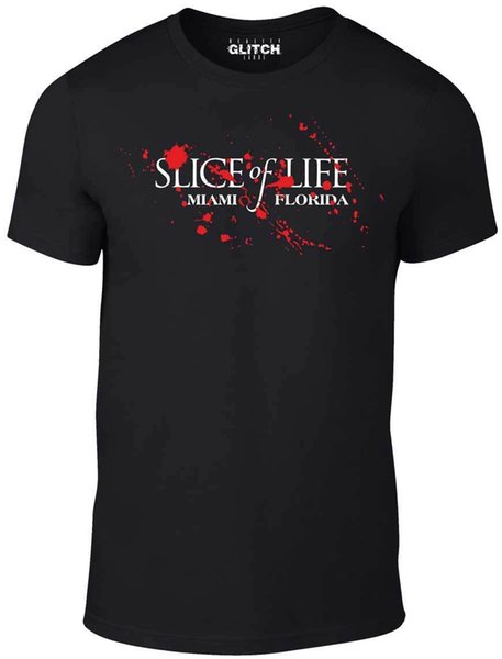 Men's Slice of Life T-Shirt - GIFT SERIES DEXTER TV BOX SET DVD BOAT HARBOUR Funny free shipping Unisex Casual Tshirt top