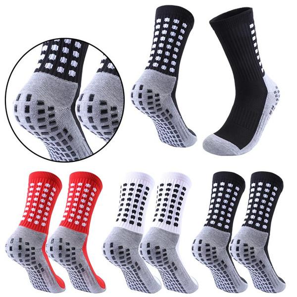 2020 vendas de meias de futebol antiderrapante meias de futebol meias de futebol dos homens de algodão de qualidade Calcetines com Trusox