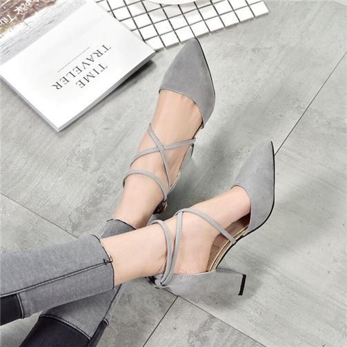 blanco / rojo de la flor de las mujeres zapatos de boda de la dama zapatos de vestir cordón de la mujer en punta 8 cm bajo el talón bombea los zapatos femeninos