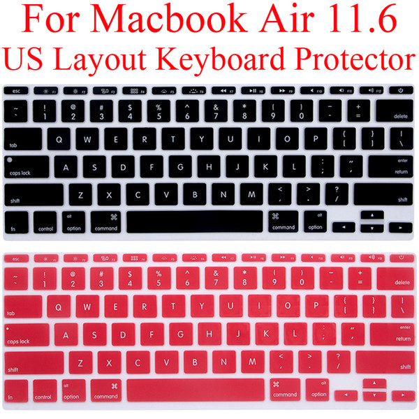 US Keyboard Protector for Macbook A1370 A1465 Silicone Keyboard Guard Cover MacbookAir 11.6 Air11 Protection Skin