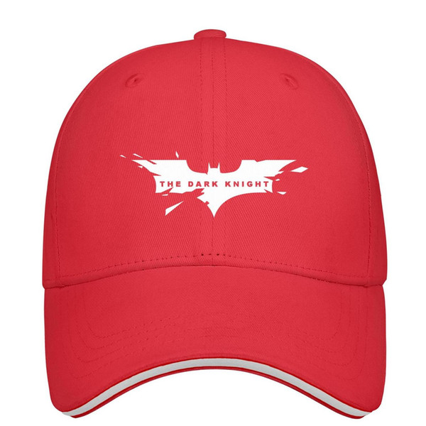 Batman bat Logo white Unisex Mens Hat Women's Hat Stylish Cotton Snapback Flatbrim Workout Hat Baseball Caps for Women
