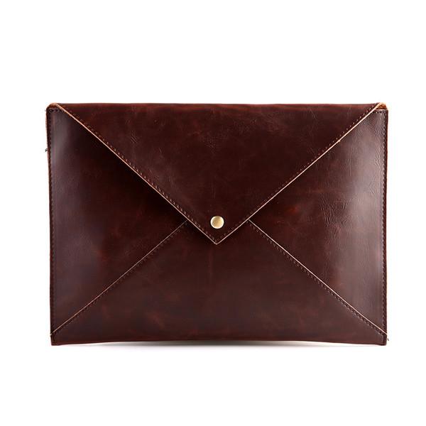 arquivo Os novos homens maré saco de mão da forma coreano saco envelope retro ombro diagonal pequena
