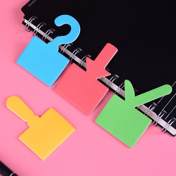 Creative Punctuation Sticky Memo Pad Tip Label Sticker Kawaii Stationery Office Message Writing Note