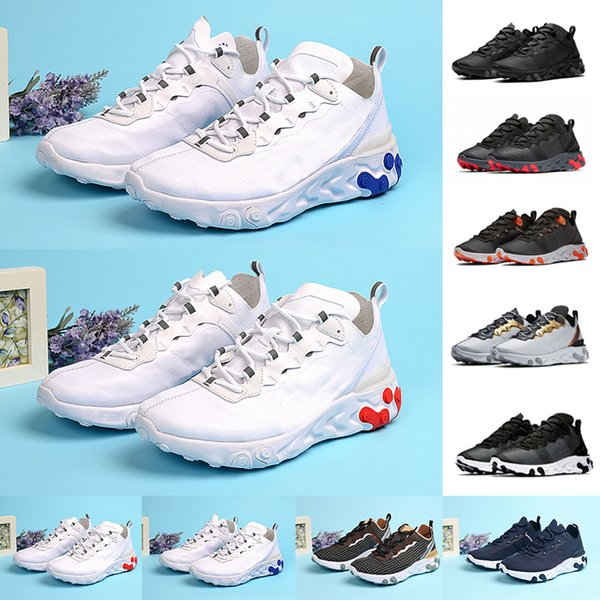 chaussure mens trainers react element 55 undercover x upcoming designer sports shoes men running sneakers shoes