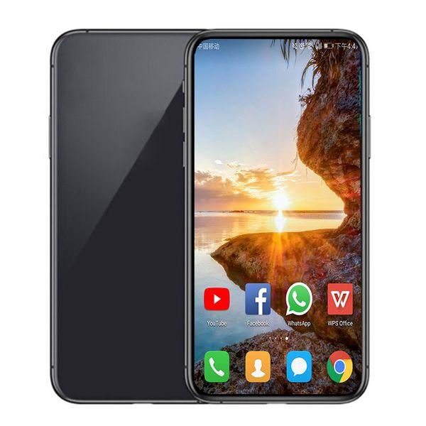 Verdes de la etiqueta sellada GooPhone i11 5.8inch Android de cuatro núcleos 1GBRAM 8 / 16GBROM 8MP pro cámara 3G WCDMA desbloqueado teléfono Mostrar falso 4G LTE teléfono inteligente
