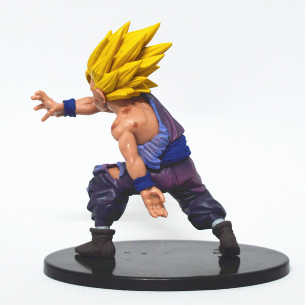 Dragon Ball Action Figures Model Toy Super Saiyan Son Gohan PVC Anime Fan Birthdays Gifts 10fw F1