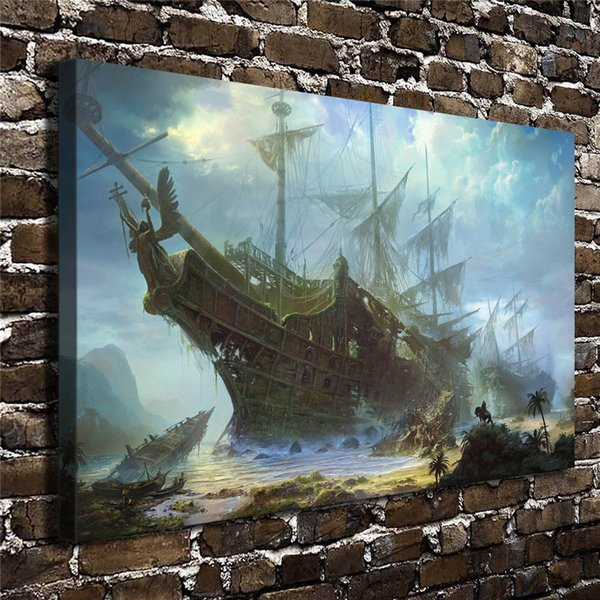 Fantasy Galleon Art