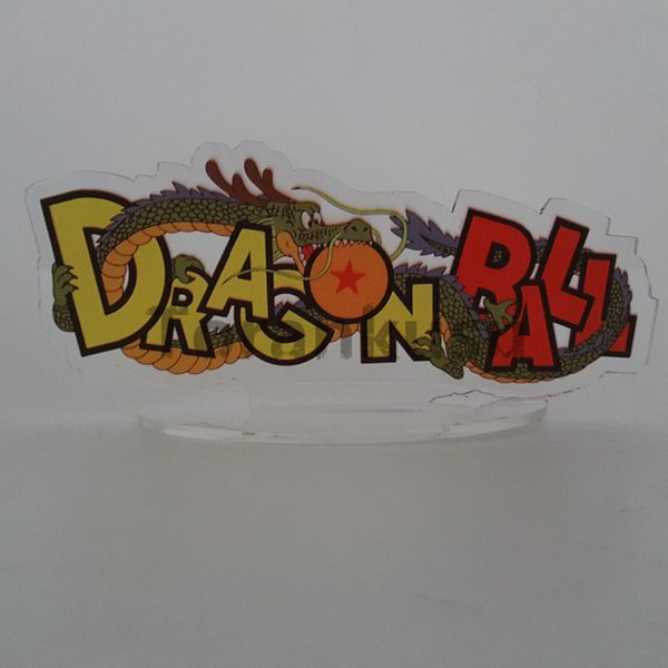 Giocattoli Hobby del giocattolo di azione Figure Dragon Ball Z Dragon Action Figures Logo Acrilico Base Anime Dragon Ball Super Son Goku Shenron DBZ