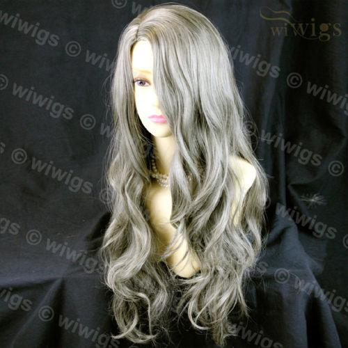 Sexy Beautiful Wavy Blonde Mix Brown Long Hair Ladies Wig From WIWIG