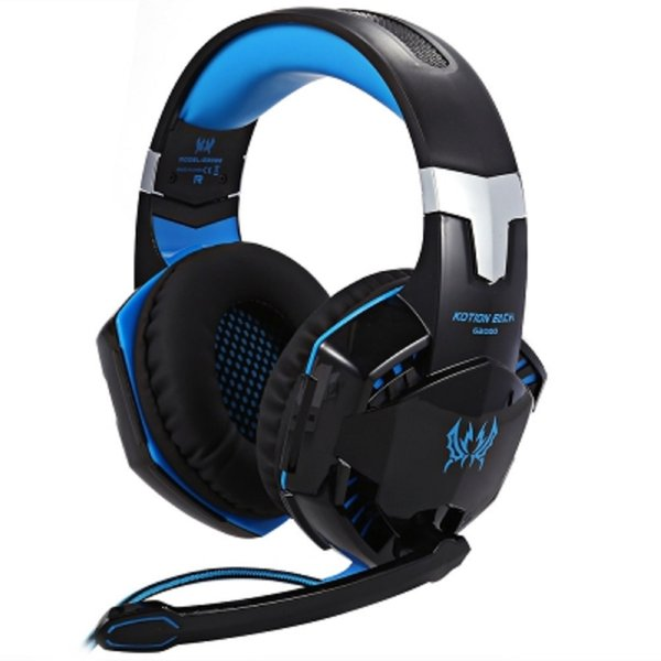 KOTION EACH G2000 2.2m Wired Noise Reduction Stereo Gaming Headset Headphone with Microphone for PC Game