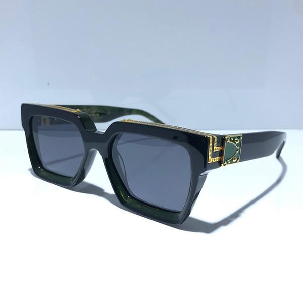 negro con verde