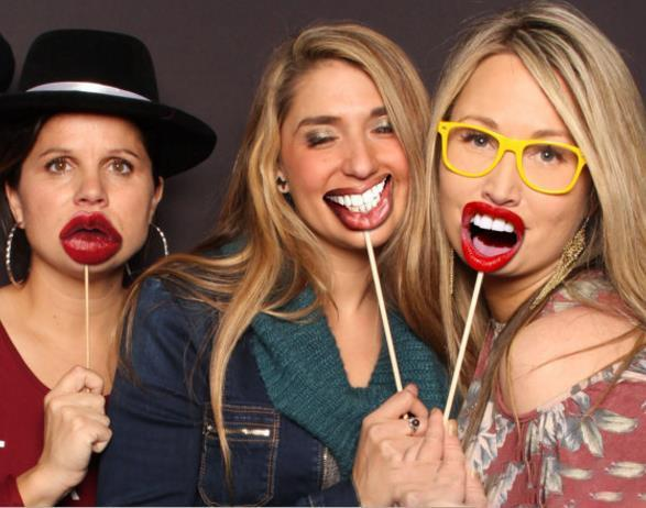 Funny Lip Mouth Photobooth Props Wedding Decoration Adults Children DIY Photo Booth Birthday Graduation Halloween Christmas Party Decor