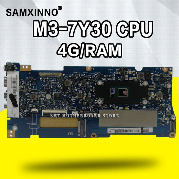 UX330CA MB._4G / RAM M3-7Y30 Für ASUS ZenBook UX330CAK UX330CA UX330C UX330 UX330 Laptop-Motherboard getestet 100% originales Mainboard