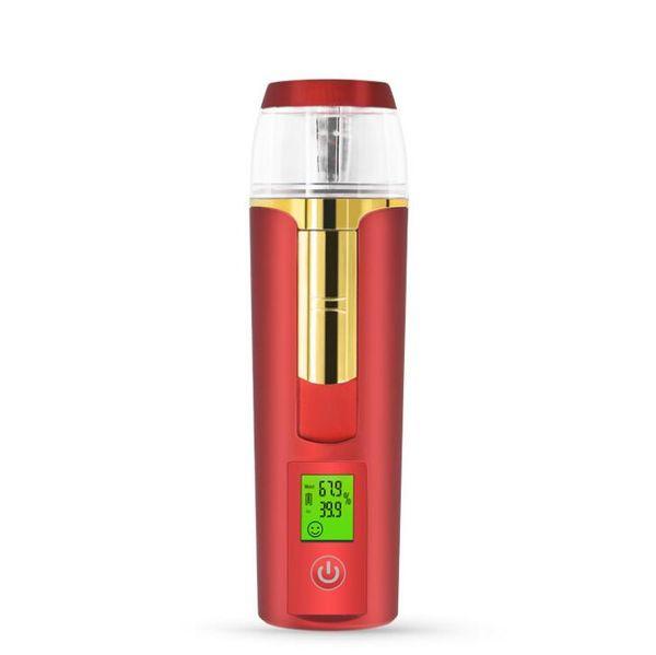 Negative ion skin intelligent test hydrating device beauty spray hydrating
