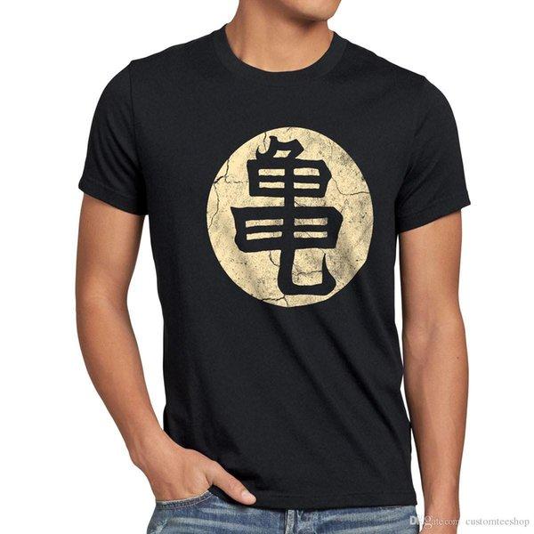 e342c13aee9f1a Großhandel Roshis Schildkröte Schule Herren T Shirt Sohn Drache Vegeta Goku  Gymnastikball Gt Z Super T Shirt Männer Camisa Masculina Weiß Kurzarm ...