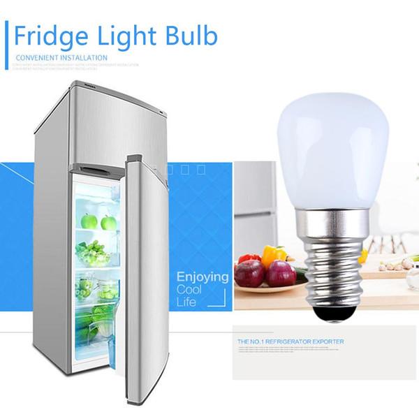Le réfrigérateur LED de E14 E12 2W allumant la lumière intérieure de réfrigérateur d'ampoule mini AC220V est blanc / blanc chaud / obscurcissant / aucun obscurcissant