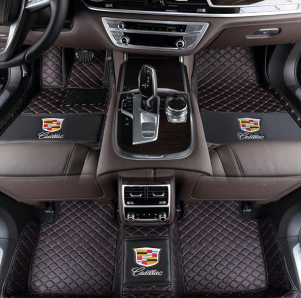 Применимо к автомобилю класса люкс Cadillac ATS-L 2015-2017 в окружении износостойкого, экологически чистого коврика для шитья