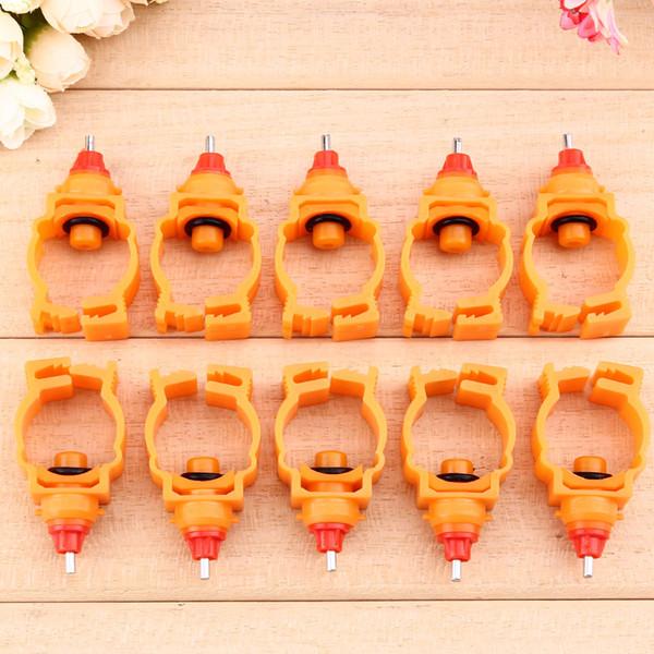 1000 adet Tavuk Meme için İçme Besleyici Otomatik Tavuk Bahar Su Nipeller Tavuk Ördek Tavuk Tiryakisi Su Besleyici