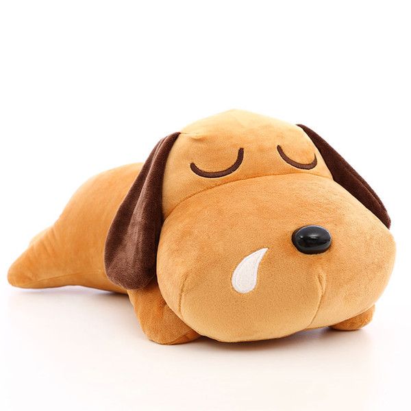 Plush toy dog pillow cute super soft big bed cloth doll prostrate dog child girl birthday gift