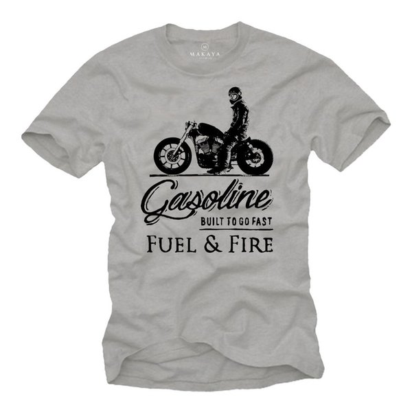 2019 Venta caliente Camiseta de moda Camiseta de motorista Herren MC Bobber Chopper Rocker Geschenke Motorradfahrer Motorrad Camiseta