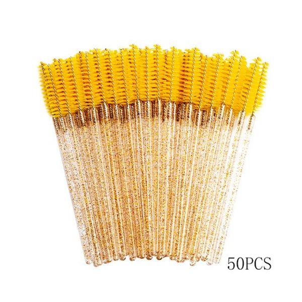 50PCS الأصفر